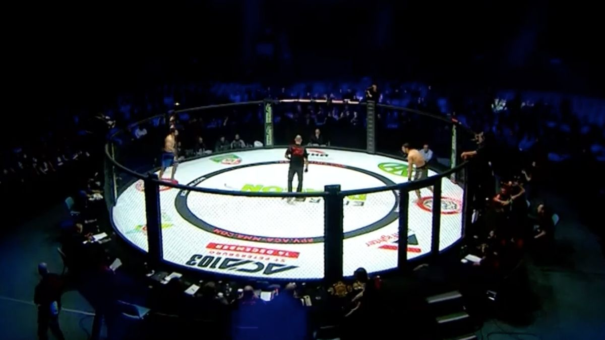 First MMA Fight