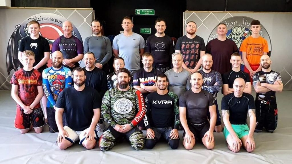 The Dungeon BJJ & MMA Academy in newcastle